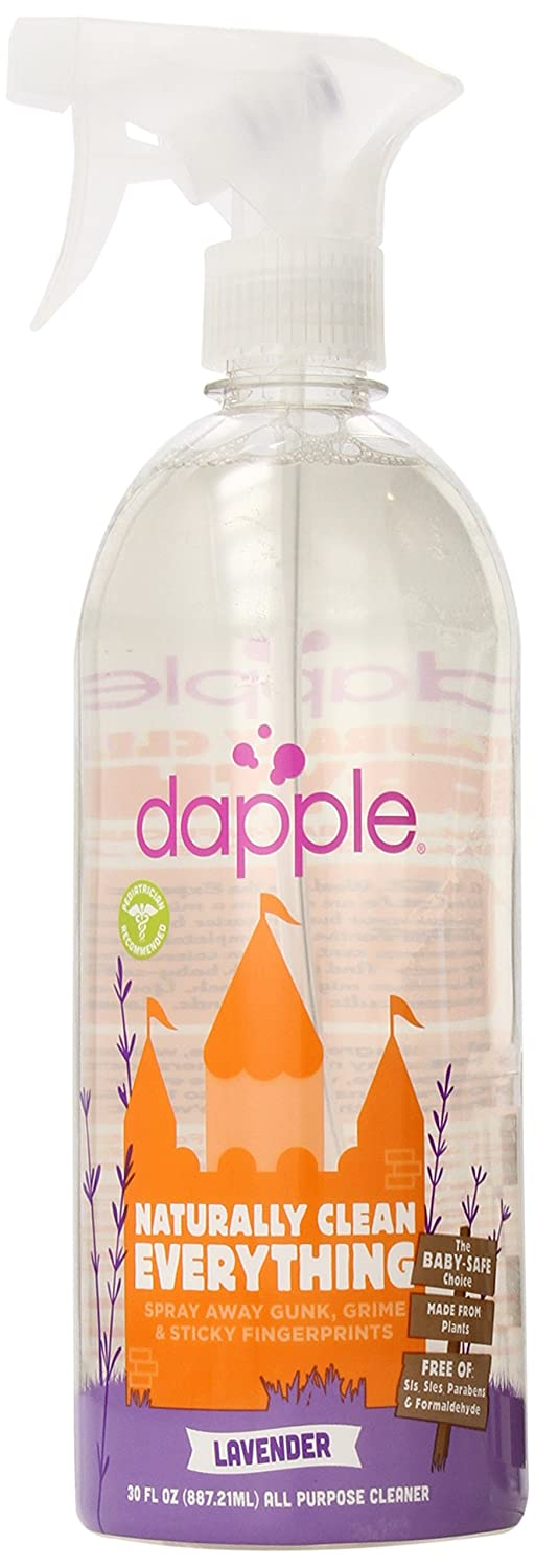 Dapple Baby All Purpose Cleaner, Lavender 30-Ounce/887ml DP-029