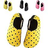 BTDREAM Kid's Barefoot Water Skin Shoes Quick-Dry Aqua Socks For Beach,Surf,Swim,Pool,Yoga
