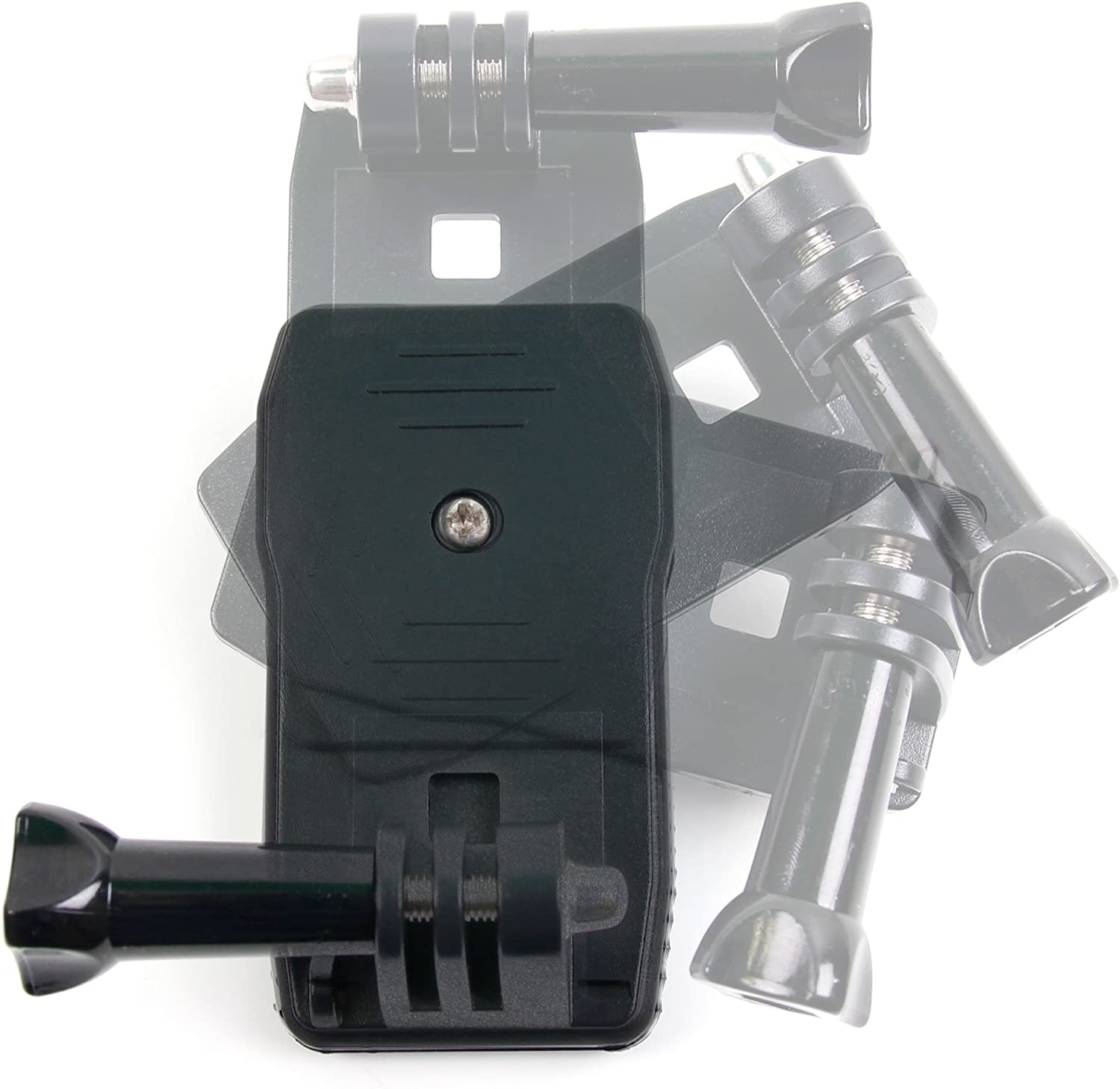 Compatible with PNJ AEE MD10 DURAGADGET Quick-Clip Jaw Clamp Mount w//Screw Thread Adapter