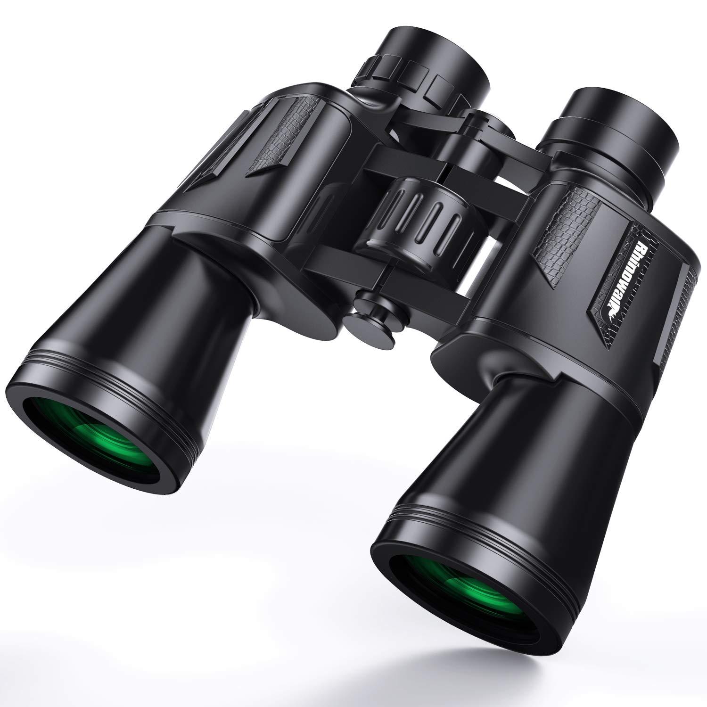 10 x 50 Binoculars for Adults,HD Binocular for Bird Watching Sport Game Children Kids Stargazing Durable Fogproof Waterproof Binoculars Telescope Perfect for Sport