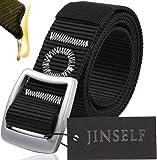 JINSELF 【グレードアップ版】 S級永久ベルト 純正ナイロン100% メンズ イーグル