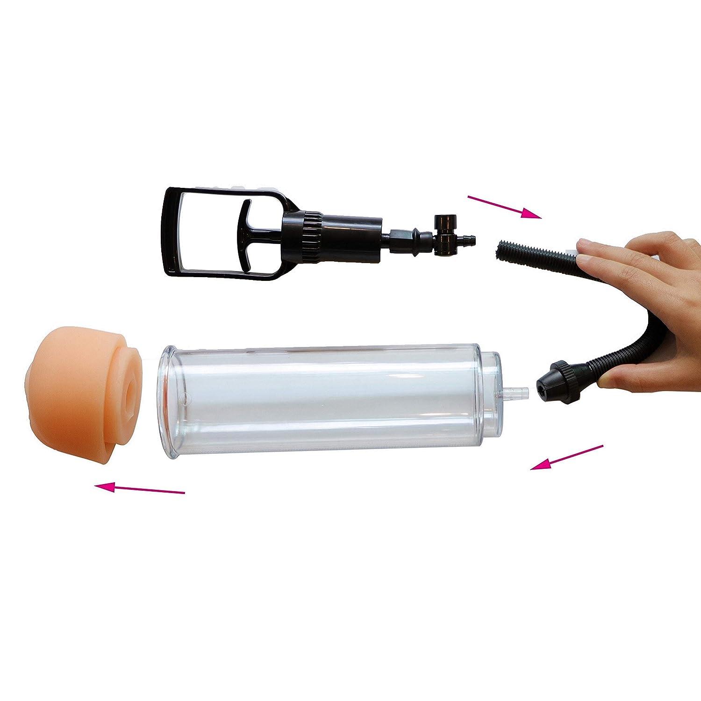PO-NB Vacuum Tube Body Play Toy Extender and Enla-rge-ment Equipment for Men