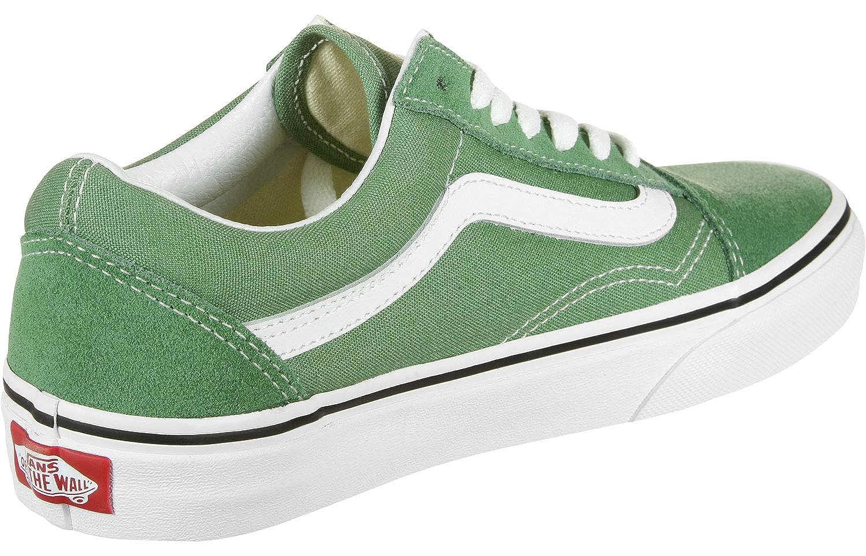 Buy Vans Old Skool Deep Grass Green