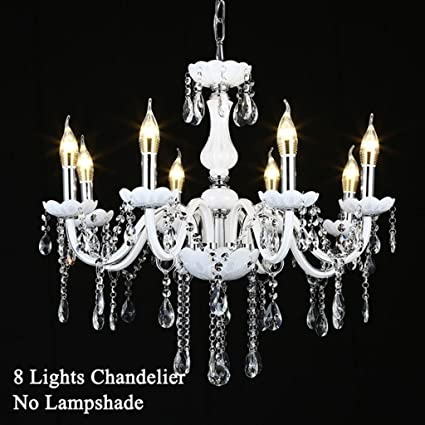 Araña $iluminación Moderna lámpara de Cristal, lámpara de ...