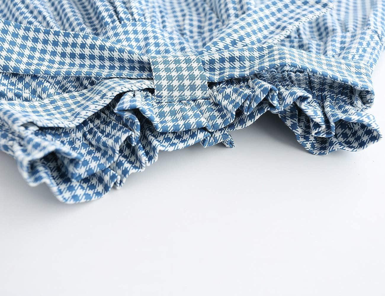 Kleinkind Kinder M/ädchen Sommer Kleidung Baby M/ädchen Outfits M/ädchen Muster Shirt Top Grid Shorts Set Kleidung f/ür 3-8 Jahre