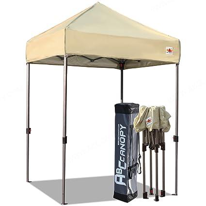 Merveilleux ABCCANOPY Pop Up Canopy 5u0027x5u0027 Portable Canopy Tent Bonus Carry Bag Tent  Stakes
