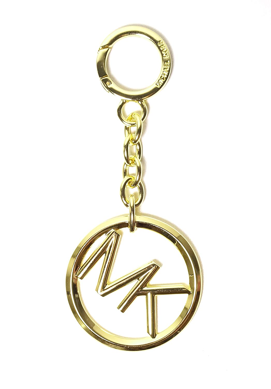 Amazon.com: Michael Kors MK Logo llavero dorado/monedero ...