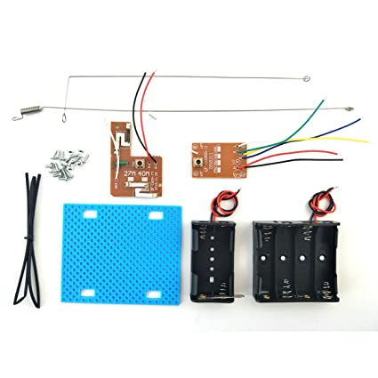 Amazon.com: EUDAX Simple Radio RC Transmitter Receiver Kit for DIY ...