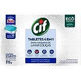 Tabletes 4 em 1 Cif Para Máquina de Lavar Louças 315g