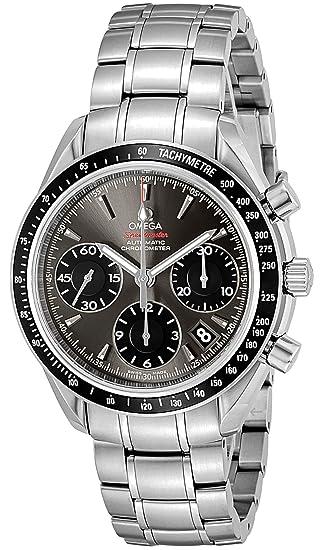 low priced 9d87e fd097 [オメガ] 腕時計 スピードマスター グレー文字盤 自動巻 クロノグラフ 323.30.40.40.06.001 並行輸入品 シルバー