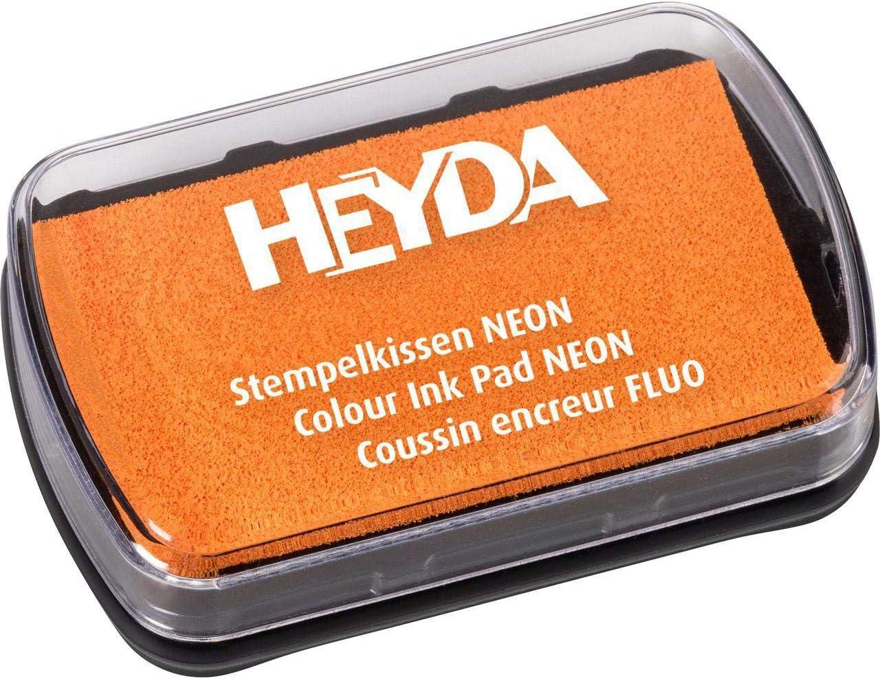 Orange Inkpad Neon Heyd Kunst Liefert Stempelkissen