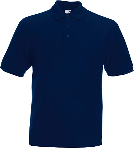 Fruit of the Loom heavy weight 65/35 Polo-Shirt: Amazon.es: Ropa y ...