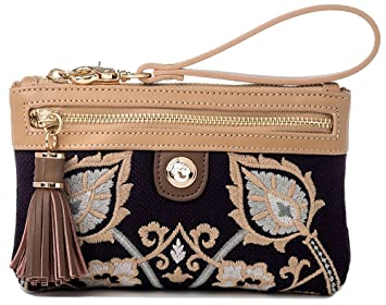 Spartina 449 Tassel Wristlet (Mulberry Grove)  Amazon.in  Bags ... adef8b703def7