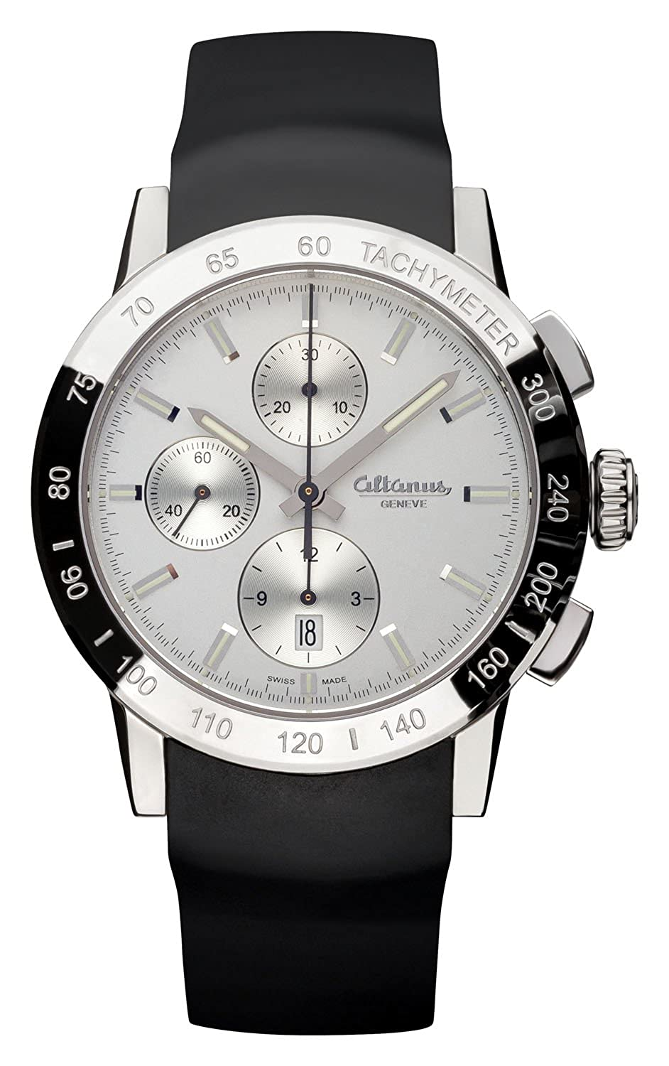 ALTANUS GENEVE Master Sport Automatik Chronograph Uhr Swiss-Made