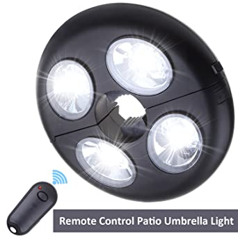 Remote control patio umbrella light 2 bright level dimming remote control patio umbrella light 2 bright level dimming umbrella pole lights 27 led night light mozeypictures Gallery