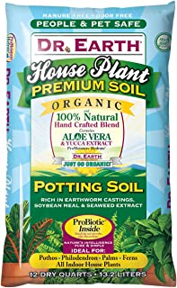 product image for Dr Earth 800 12-Quart House Plant Potting Soil