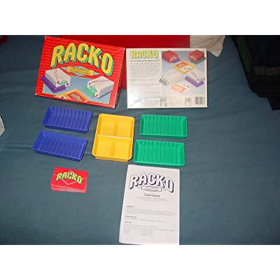 RACK-O; Can You Rack Up the Highest Score? (1992 Edition): Toys & Games