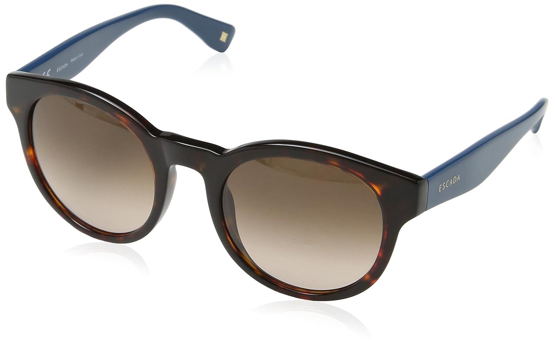 Escada Ses395M, Gafas de Sol para Mujer, Marrón (Shiny Dark ...