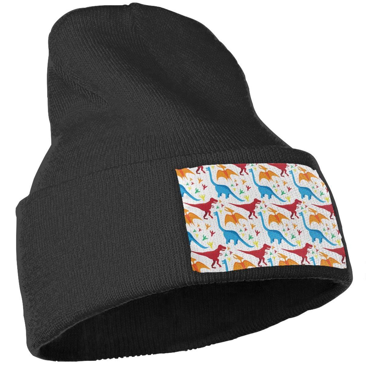 ONHIM Dinasor Men Women 100/% Acrylic Knitting Beanie Hat Slouchy Headwear Hats