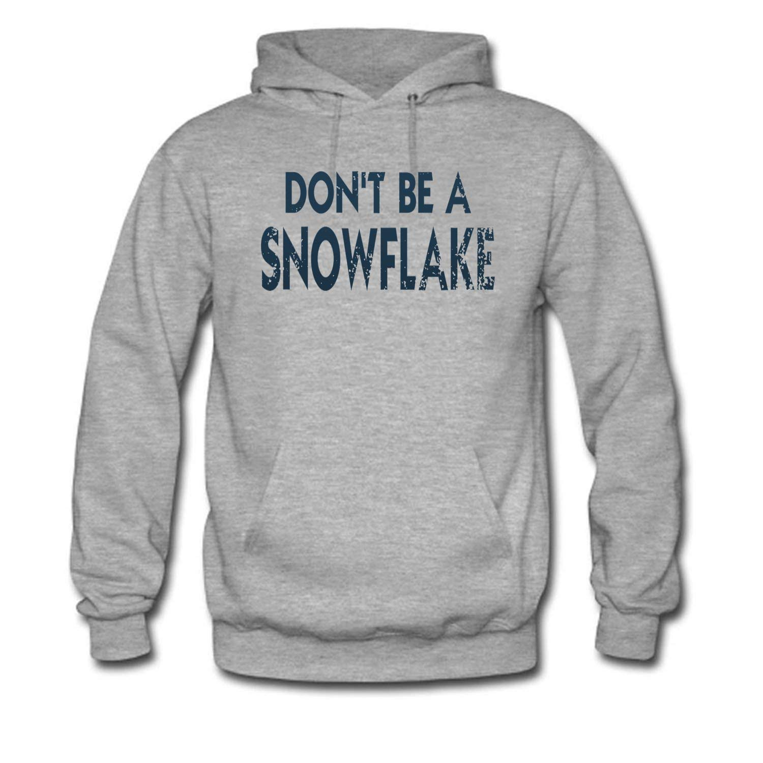 8cfc03ce8 Grey Bbhappiness Mens Don't Be a Snowflake Hoodies Hoodies Hoodies 26db14