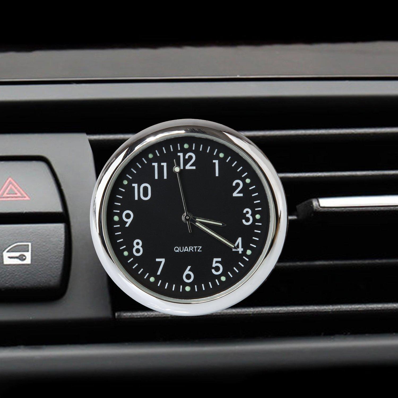 Amazon Com Acecharming Car Clock High Accuracy Car Dashboard Clock