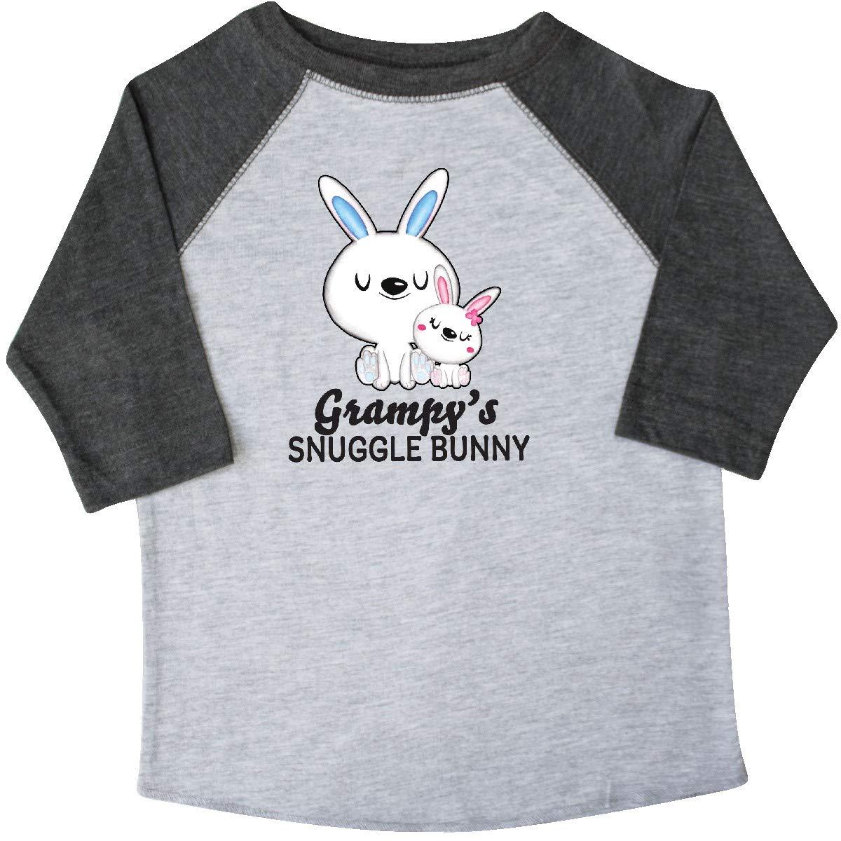 inktastic Grampys Snuggle Bunny Easter Toddler T-Shirt