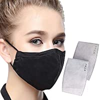Men's and women's outdoor protective Masks for children and adults-ideal (1 pack of 2 filters)