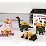 Family 5 Pack Unicorn & Dinosaur Taco Holder Set - Taco Fun for The Parents and Kids. Includes a Unicorn , Triceratops…