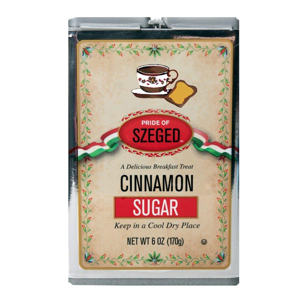 Szeged Cinnamon Sugar, 6 Ounce Container