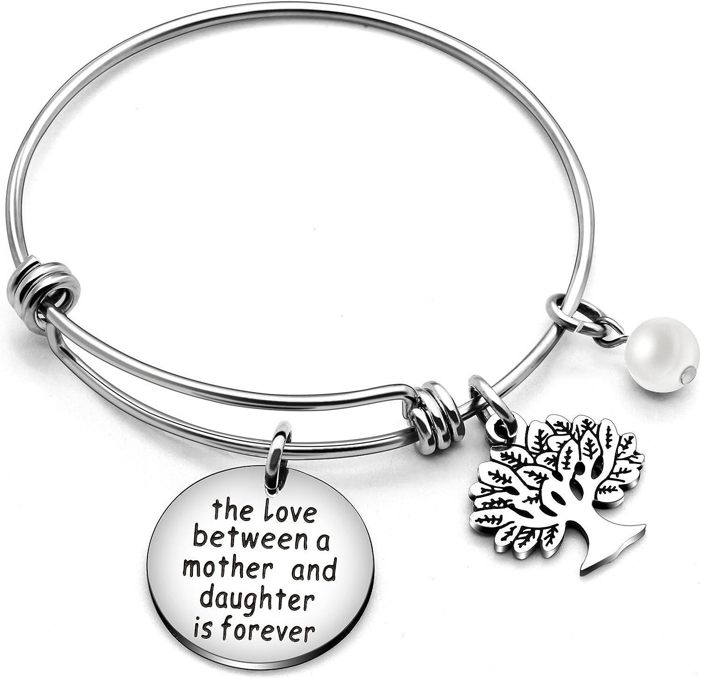Pulsera para el día de la madre, regalo familiar de la vida, el amor entre madre y hija