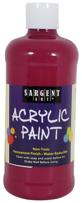Sargent Art 24-2438 16-Ounce Acrylic Paint, Magenta