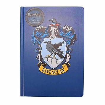 Amazon.com: Cuaderno de Harry Potter Ravenclaw casa escudo ...