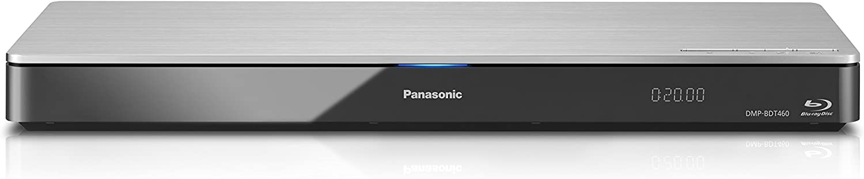 Panasonic Smart Network 4K Upscaling 3D Blu-Ray Disc & Streaming Player DMP-BDT460 (Silver) , WiFi, Twin HDMI, Miracast
