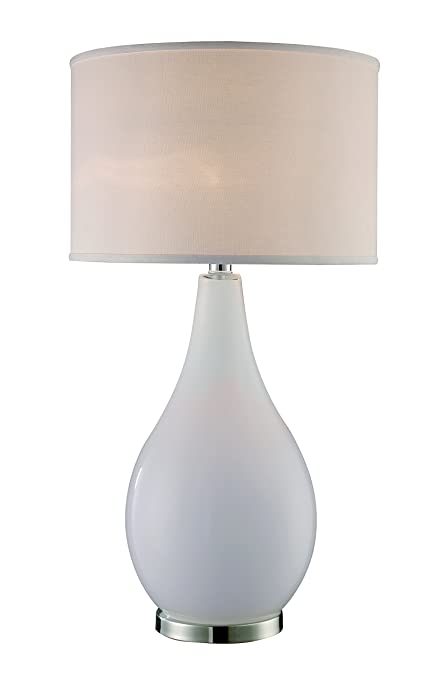 Attrayant Trans Globe Lighting RTL 8888 Wide Base Opal Magnum Table Lamp, 17u0026quot; X