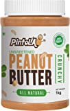 All Natural Peanut Butter Crunchy (1 kg) (Unsweetened, Non-GMO, Gluten Free, Vegan)