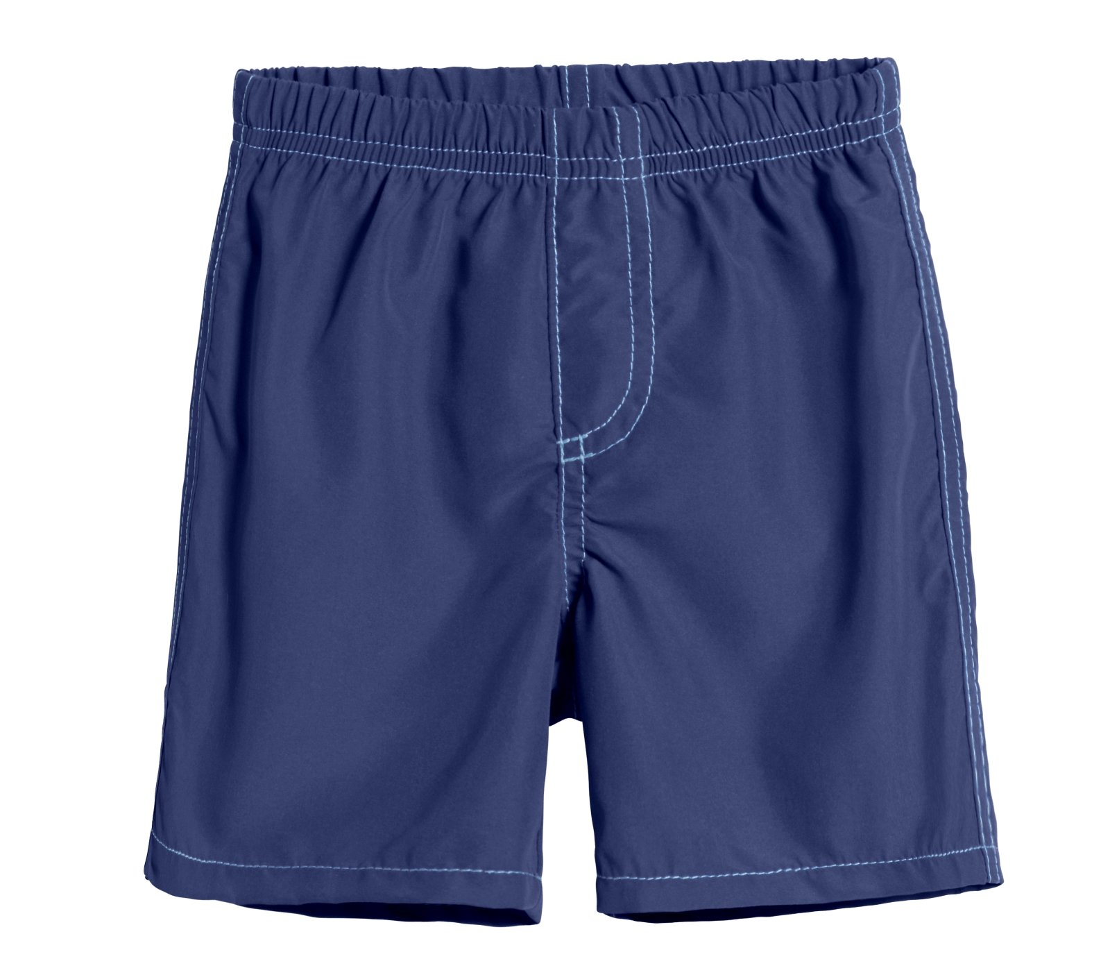 City Threads Little Boys' Swimsuit Swim Trunks Shorts, Navy, 4