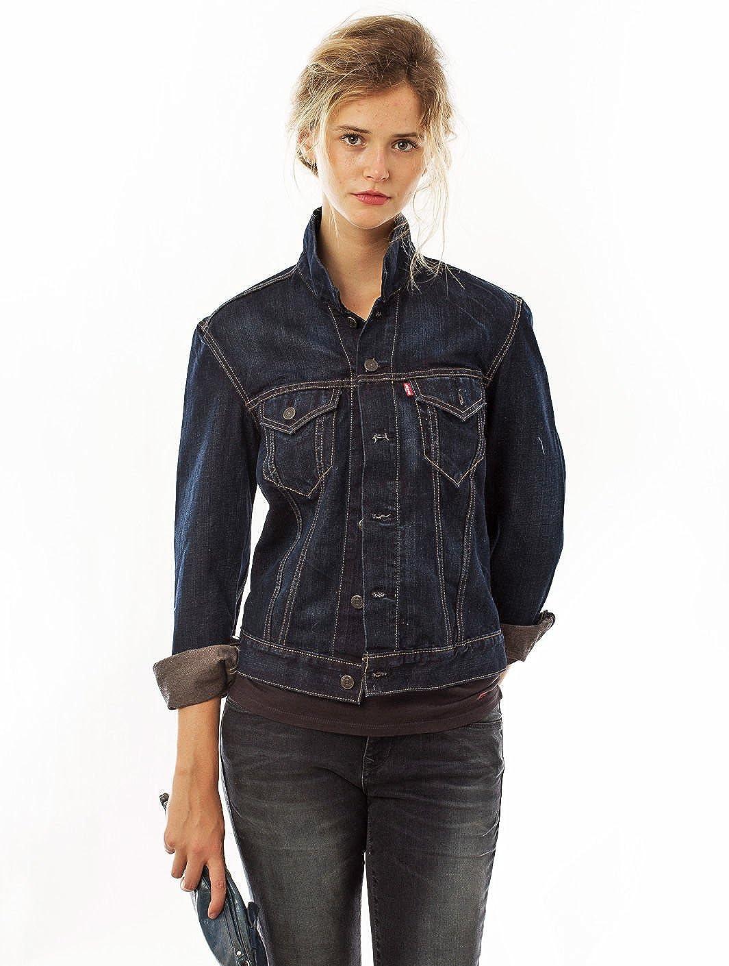 LEVIS Slim Fit Trucjer Jacket Chaqueta Con Capucha Para Hombre Levis Jeans azul turquesa Talla:XL: Amazon.es: Deportes y aire libre
