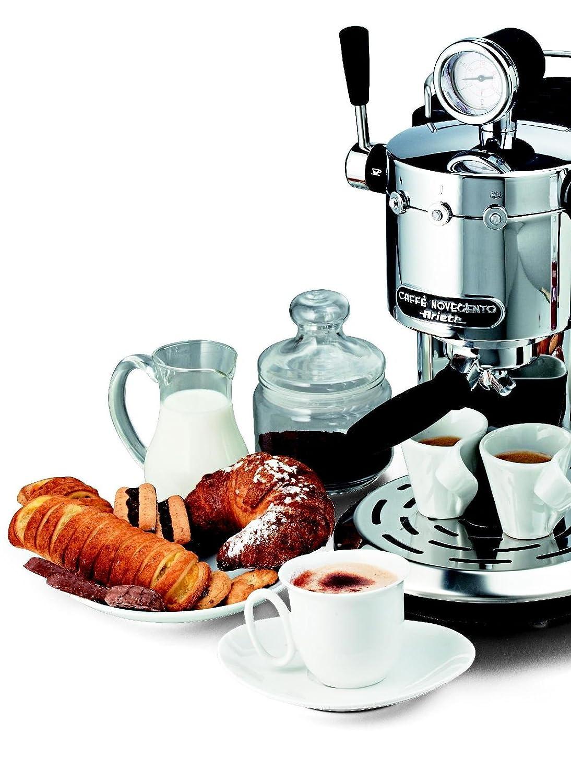 Ariete CAFFÈ NOVECENTO Máquina espresso 1L 2tazas Plata ...