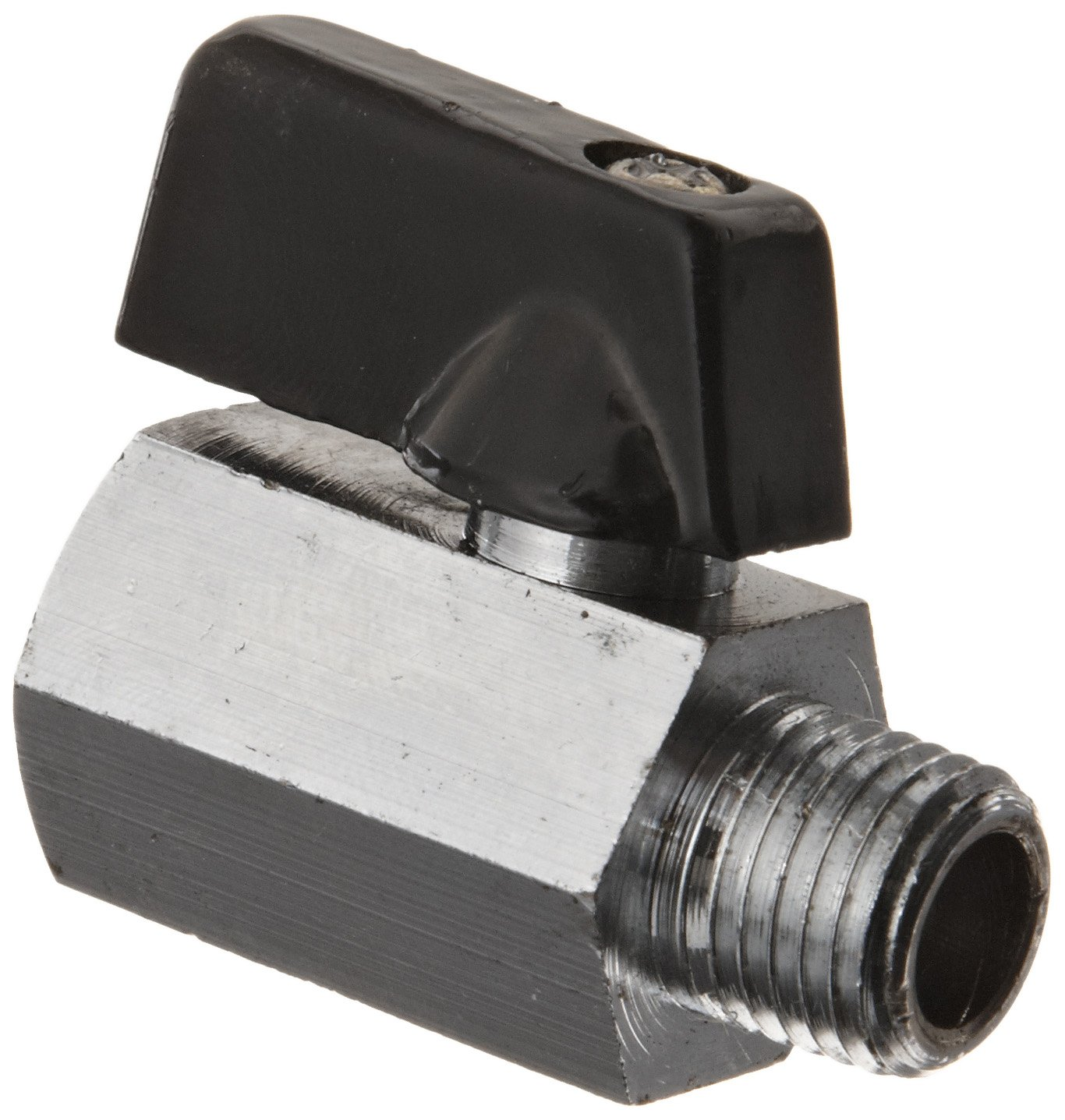 Lever Kingston KMBVM Series Brass Mini Ball Valve 1//4 NPT Male x NPT Female 1//4 NPT Male x NPT Female Kingston Valves KMBVM-2B