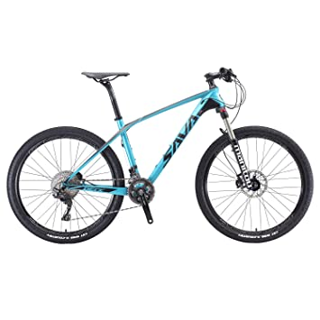 Carbon Fiber Mountain Bike >> Savadeck 700 Carbon Fiber Mountain Bike 26 27 5 29 Complete Hard Tail Mtb Bicycle 22 Speed Shimano 8000 Deore Xt Manituo M30 Suspension Fork