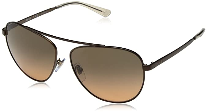 0ab283fcedf Image Unavailable. Image not available for. Color  DKNY Women s Metal Woman Sunglass  Aviator
