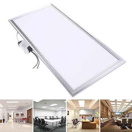 Amazon.com: 24 W LED de techo empotrada foco de Panel Down ...