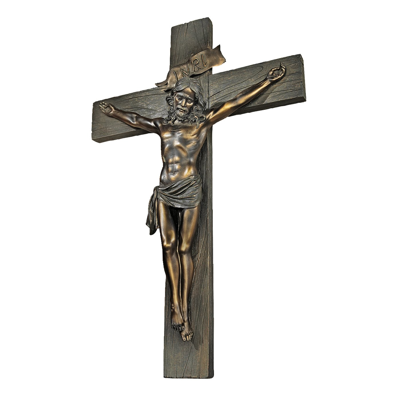 amazon com design toscano crucifixion cross of jesus christ wall