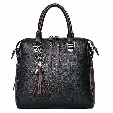 76ec665739 Gorgeous Women Fur Handbags 2018 Printing PU Leather Shoulder Messenger Bags  Lovely Sweet Tote Bag