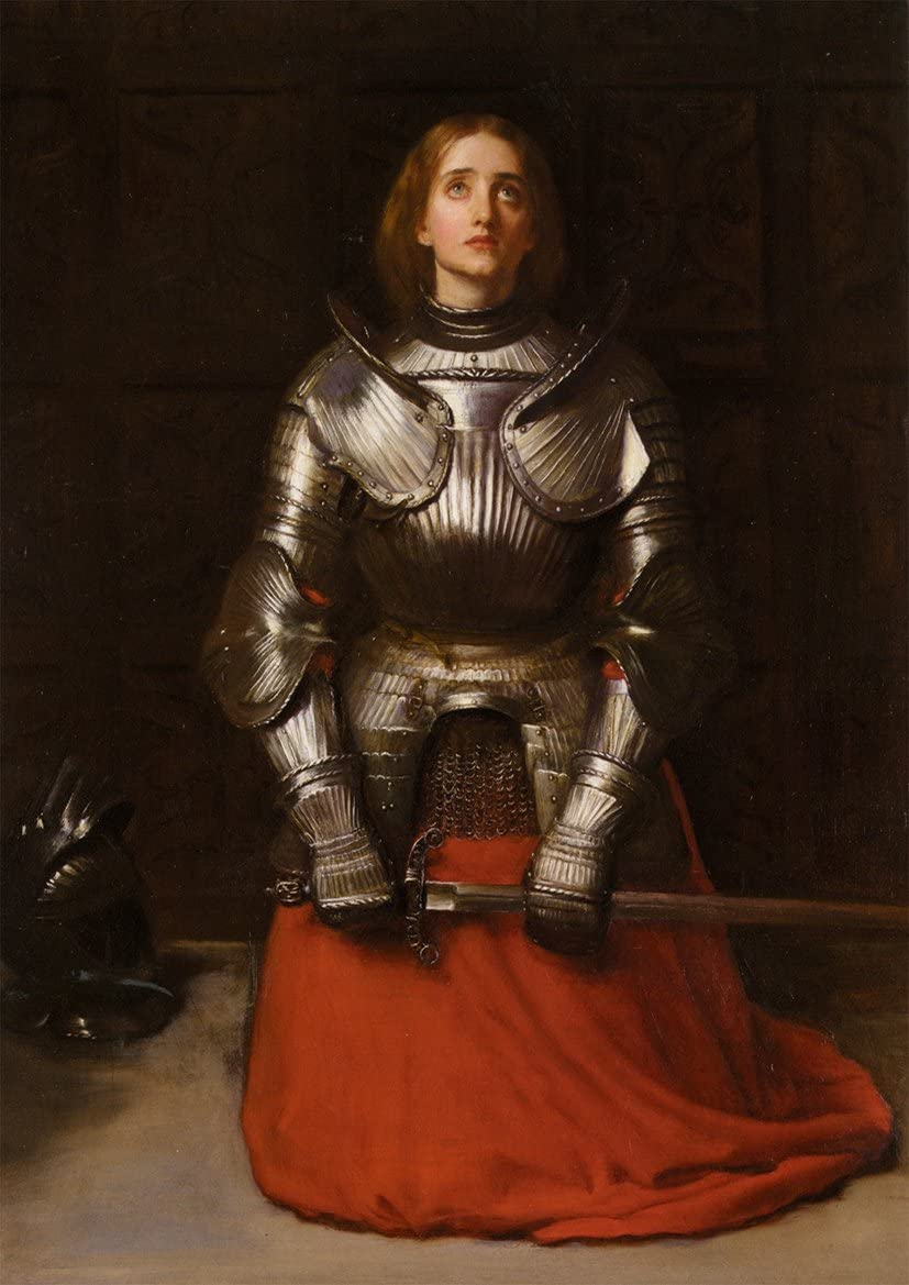 Joan of Arc - Chas Fagan Fine Art