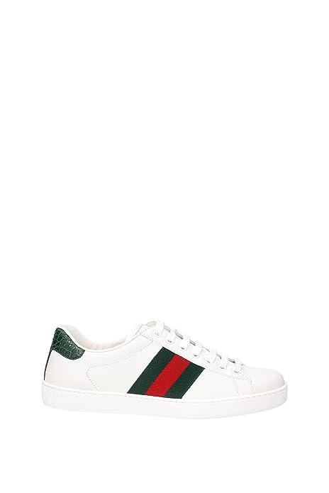 Sneakers Gucci Hombre - Piel (386750A3830) EU  Amazon.es  Zapatos y  complementos b071e0fface