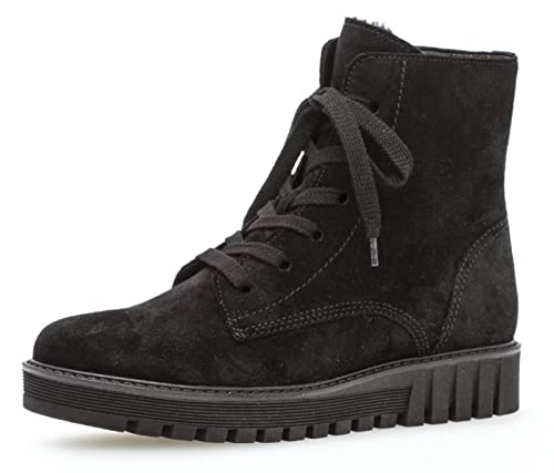 blockabsatz Damen gefüttert frauen winterstiefeletten Stiefel boots Weite Gabor halbstiefel Schnürstiefelette bootie f 94 812 schnürboots 2 2cm 5A3Rj4Lq