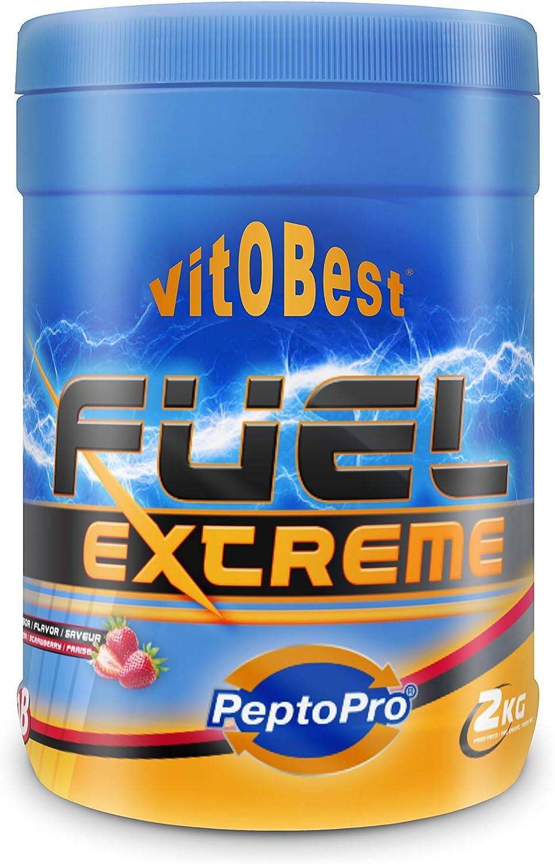 FUEL EXTREME 2 kg FRESA - Suplementos Alimentación y Suplementos Deportivos - Vitobest