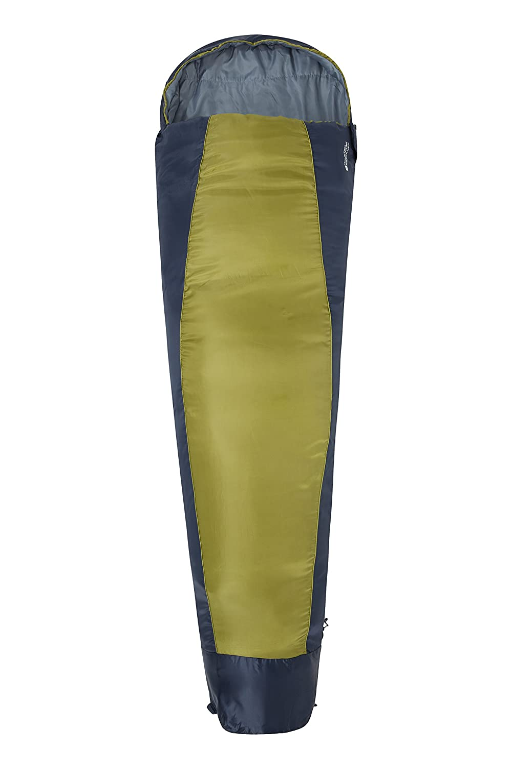 Mountain Warehouse Traveller 50 Sleeping Bag – 防風、Mummy Shapedバッグwith Innerポケット – Perfect for the Summer Months – 220 cm x 80 cm X 50 cm B00KYHZJFK ライムグリーン ライムグリーン