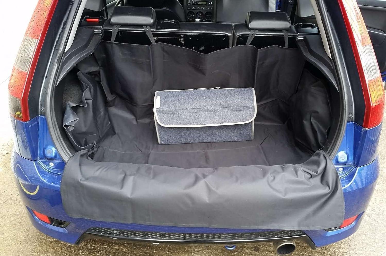 Renault Megane Waterproof Rear Car Boot Liner with Bumper Protector 2001-2016